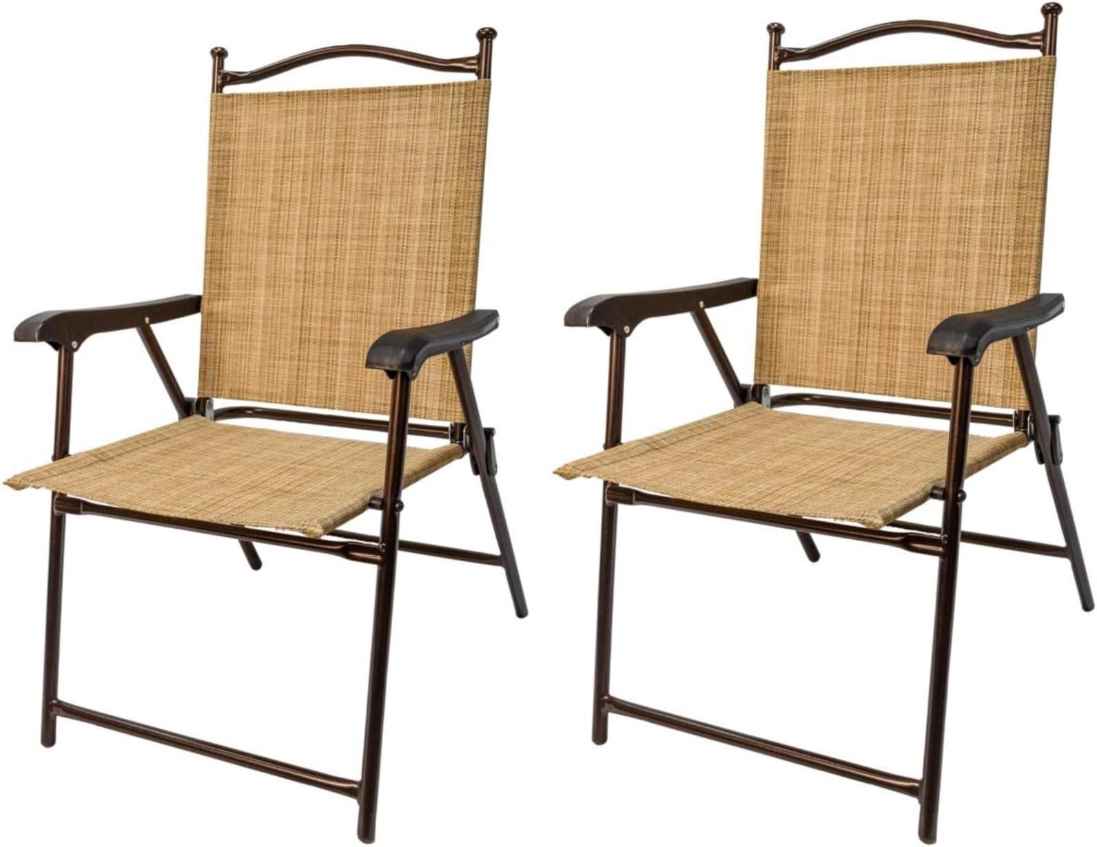 amazon com sling chairs patio lawn garden rh amazon com
