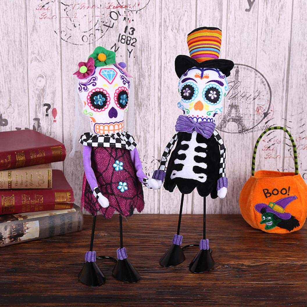 YLCOYO Halloween Swing Skull Ornament Creative Dance Performance Costume Props (A) by YLCOYO (Image #6)