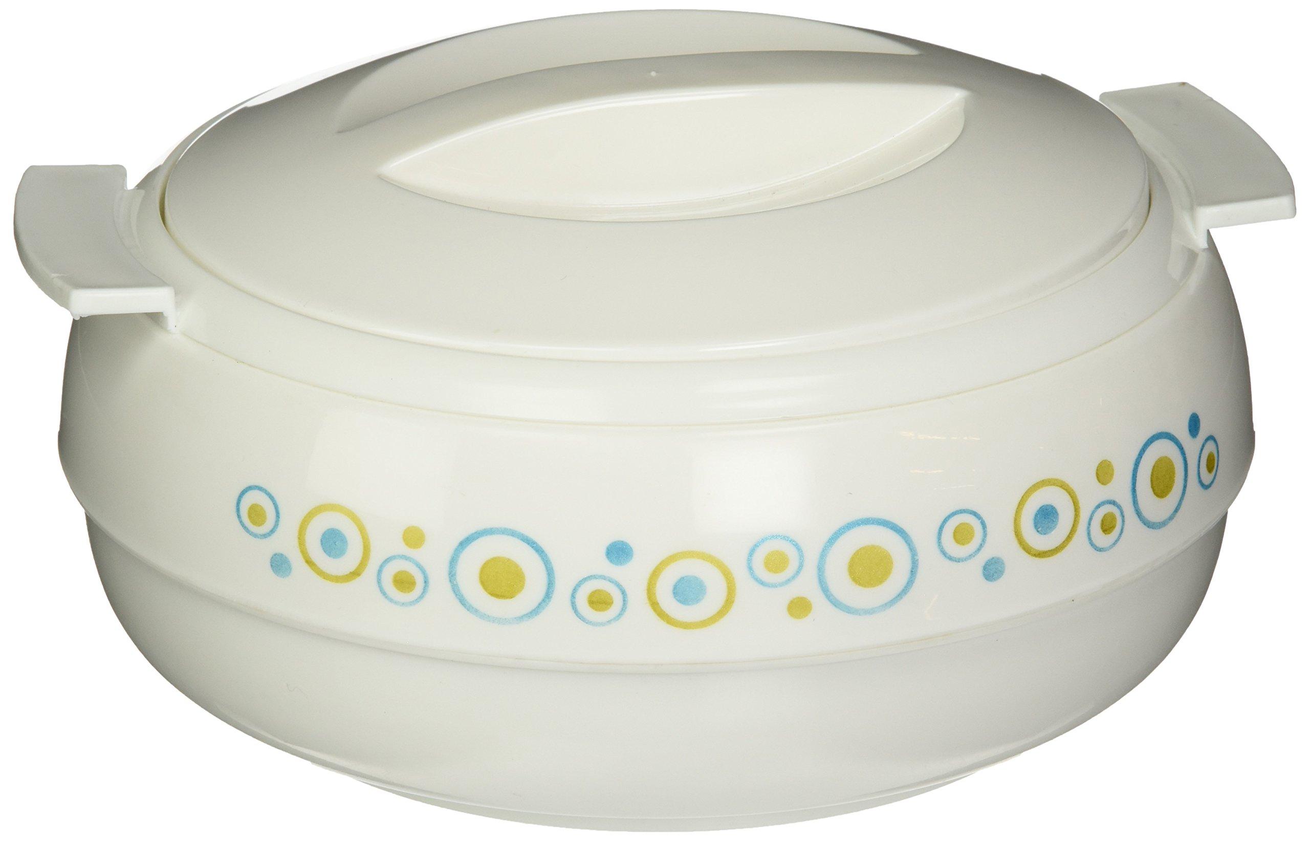 Cello Ornate Hot-Pot Insulated Casserole Food Warmer/Cooler, 1.7-Liter