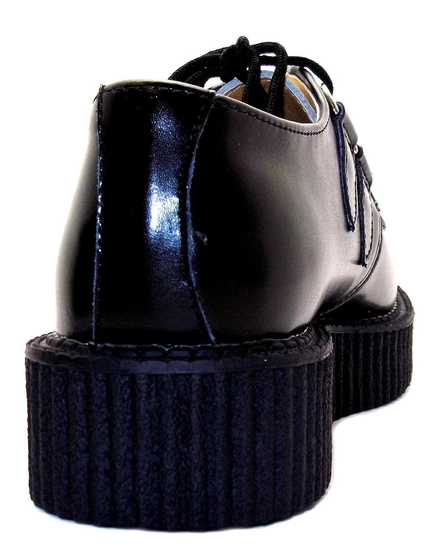 T.U.K. Mondo Lo Creeper Damen Damen Damen Turnschuhe Schwarz schwarz a59339