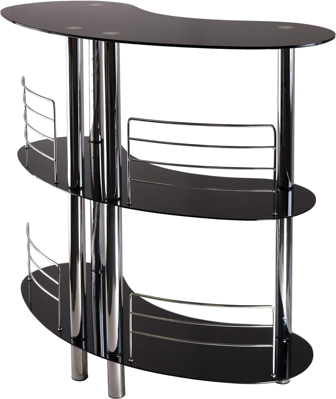 Winsome 93347 Martini Wine Storage, Black/Metal