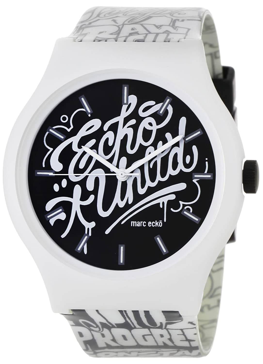 Amazon.com: Marc Ecko Midsize E06515M1 Artifaks Art of Progress Watch: Watches