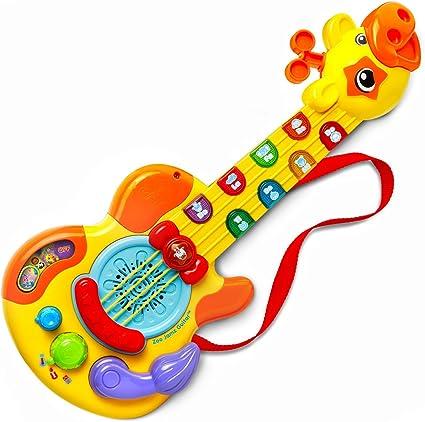 Vtech Zoo Jamz Guitar Giraffe Light Up Musical Animal Sounds toddler learning