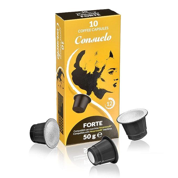 Consuelo - cápsulas de café compatibles con Nespresso* - Forte ...
