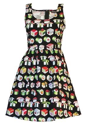 Retrolicious Bento Box Dress Medium At Amazon Women S Clothing Store