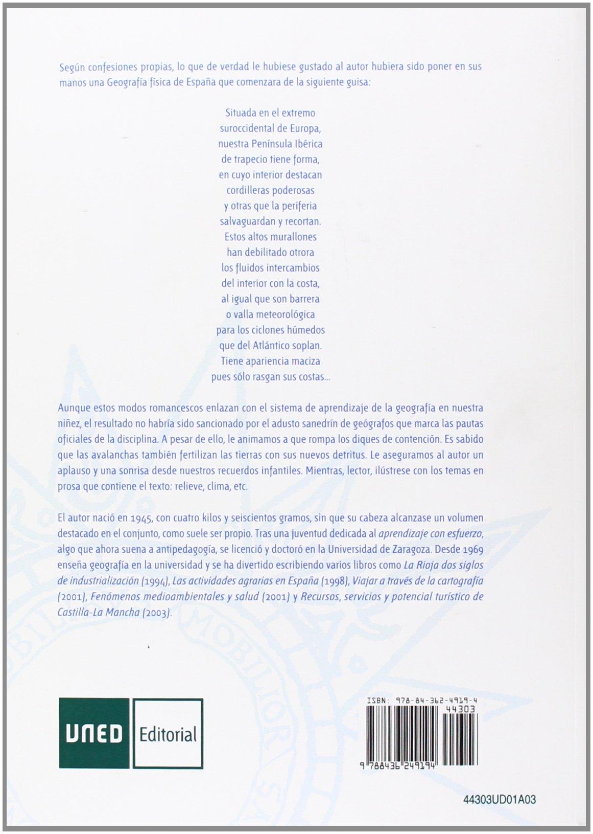 Geografía física de España (UNIDAD DIDÁCTICA): Amazon.es: Franco Aliaga, Tomás: Libros