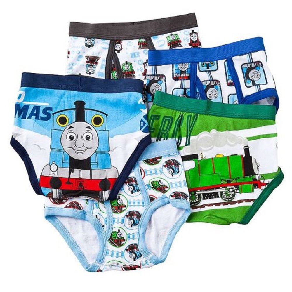 Thomas the Tank Engine Toddler Boys 5 Pack Underwear Briefs multicolor size 4