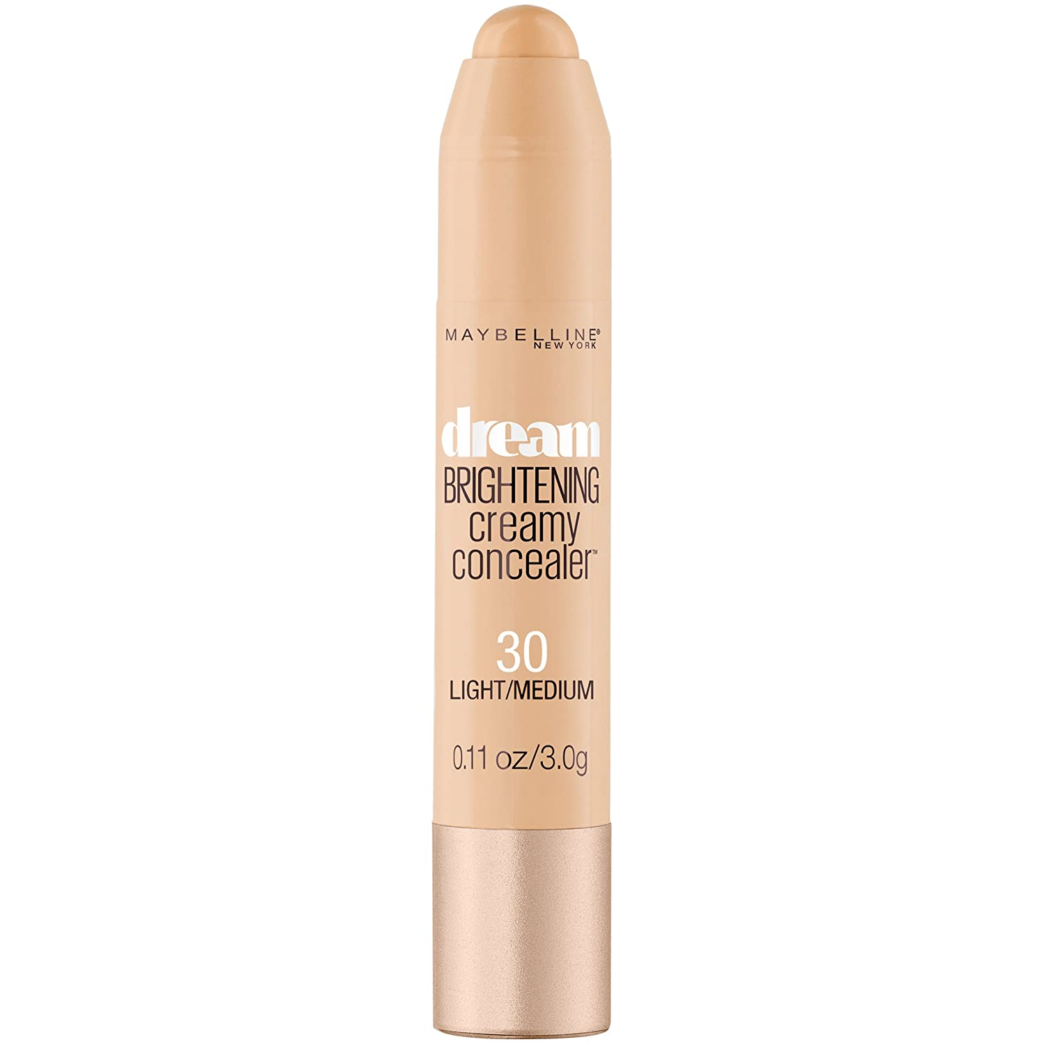 Maybelline New York Dream Brightening Creamy Concealer, Light/Medium, 0.11 Ounce