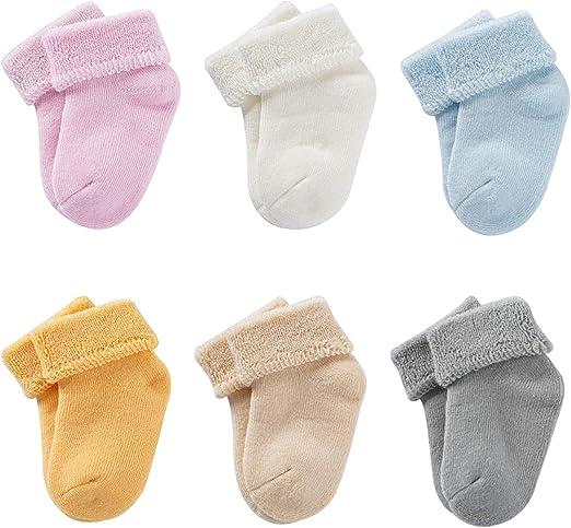 Baby Socks For Toddler Girls W Non Skid Best Gift 12 24 Months Infants Girl 6 Pa