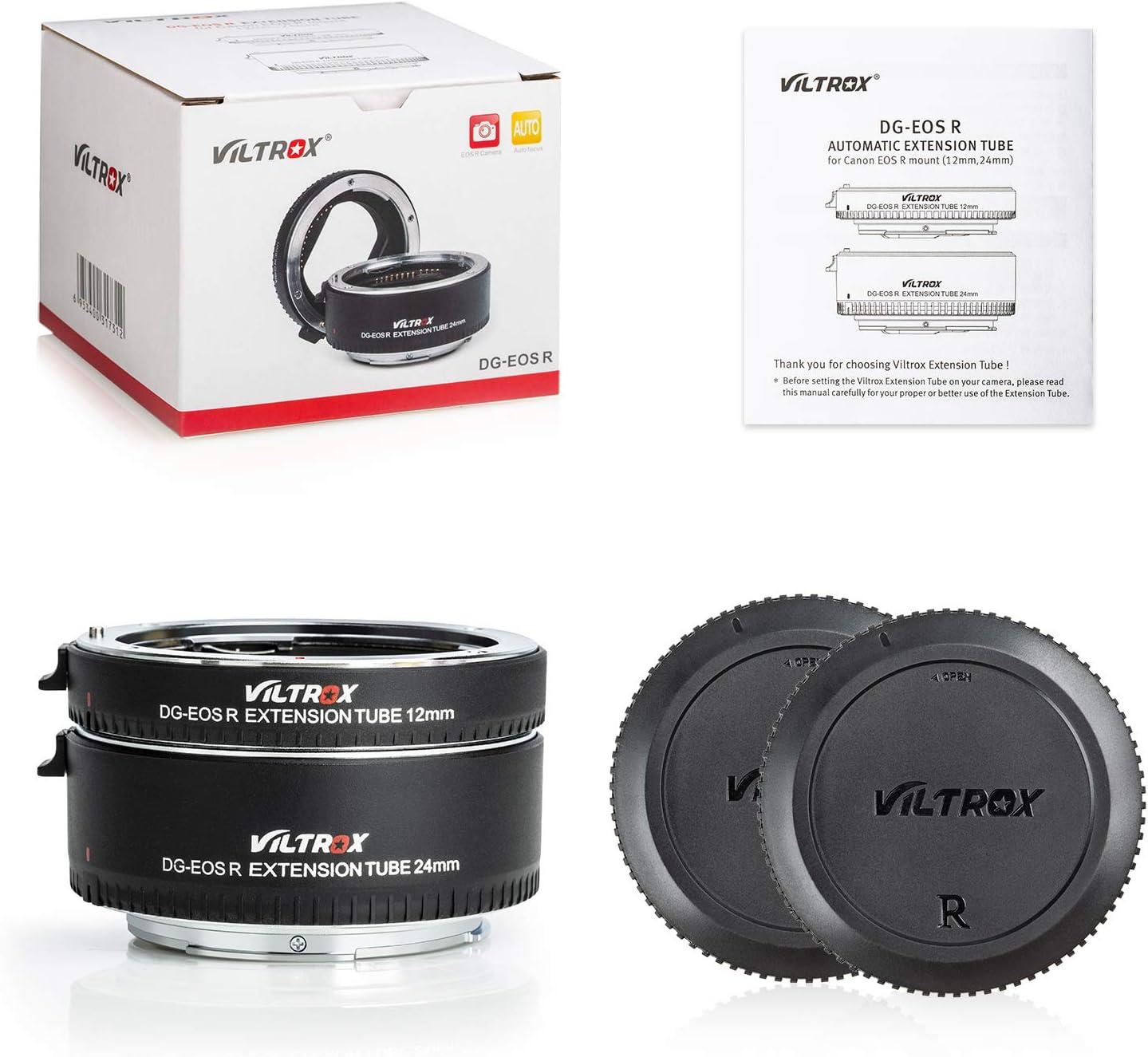 Viltrox DG-EOS R Autofokus AF Makro Objektiv-Verlngerungsring 12 ...