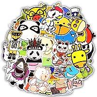 Waterproof Animal Vinyl Stickers Bomb Laptop Water Bottle Folders Toy for Kids (50 Pcs/Pack)