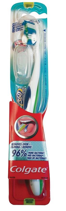 Colgate - 360 Degrees - Cepillo de dientes medio