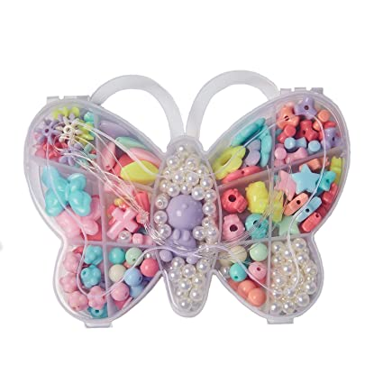 bead making Beads & Jewellelry Making Supplies Butterfly Bead & Jewellery Making Set by Jump Toys®