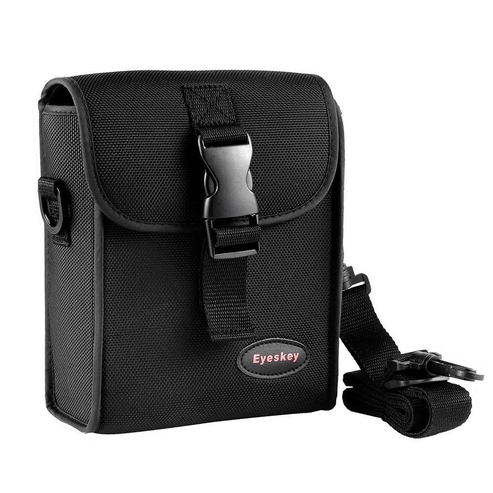 Lixada Eyeskey Universal 42mm/50mm Roof Prism Binoculars Storage Bag Case with Shoulder Strap