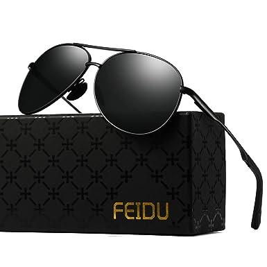 650e3b75a261 Polarized Sunglasses Aviator Sunglasses for Men - FEIDU Polarized Aviator  Sunglasses for Men Sunglasses Man FD9002