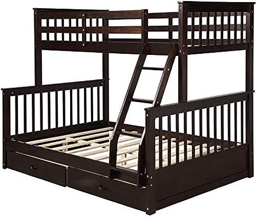 ALI VIRGO Solid Wood Bunk bed