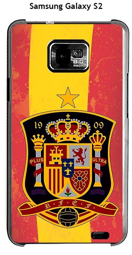Onozo Carcasa Samsung Galaxy S2 diseño fútbol España fondo ...
