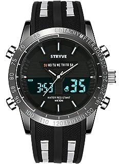 Digital Reloj Deportivo, Militar Al Aire Libre Reloj para ...