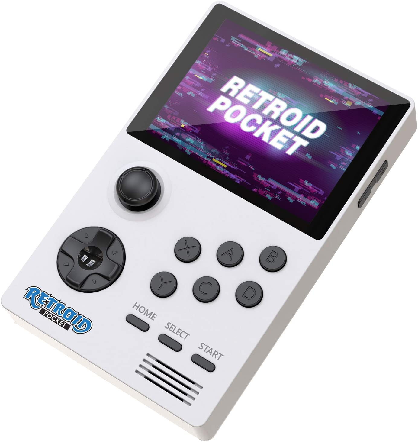 NEXADAS Retroid Pocket Android Handheld Game Console, Dual Boot Retro Game Console with 4000 mAh Large Capacity Battery, HDMI Output for TV Display, for Kids (White 32GB Version)