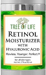 Retinol Moisturizer Face Cream - Clinical Strength Anti Aging Cream