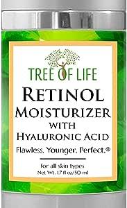 Retinol Cream Anti Wrinkle Moisturizer - Clinical Strength - Anti Aging Cream Retinol Moisturizer For Facial Care - 50ml