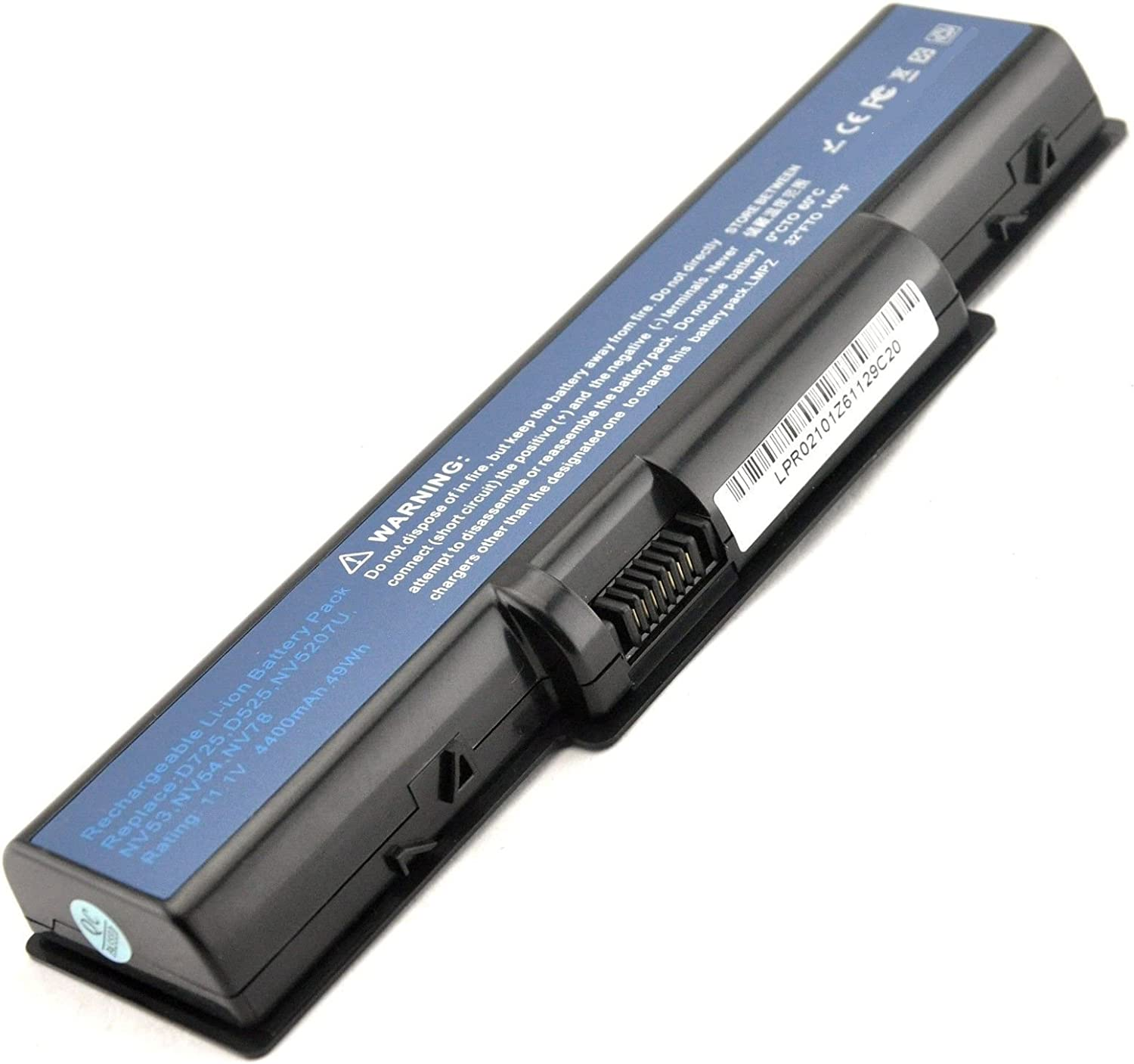 Powerforlaptop Laptop/Notebook Replacement Battery Compatible with Acer Aspire 4732Z 4732 5332 5334 5516 5517 5532 5732Z 5732 5732G 5732ZG 5734Z 7315 7715 7715Z, Emachine D525 D725 Series AS09A31