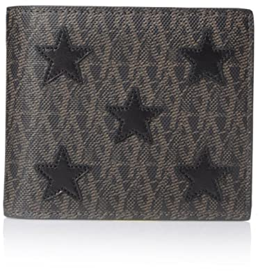 a86332811cfa YVES SAINT LAURENT Men s Toile Monogram California East West Printed Leather  Star-Stitched Wallet