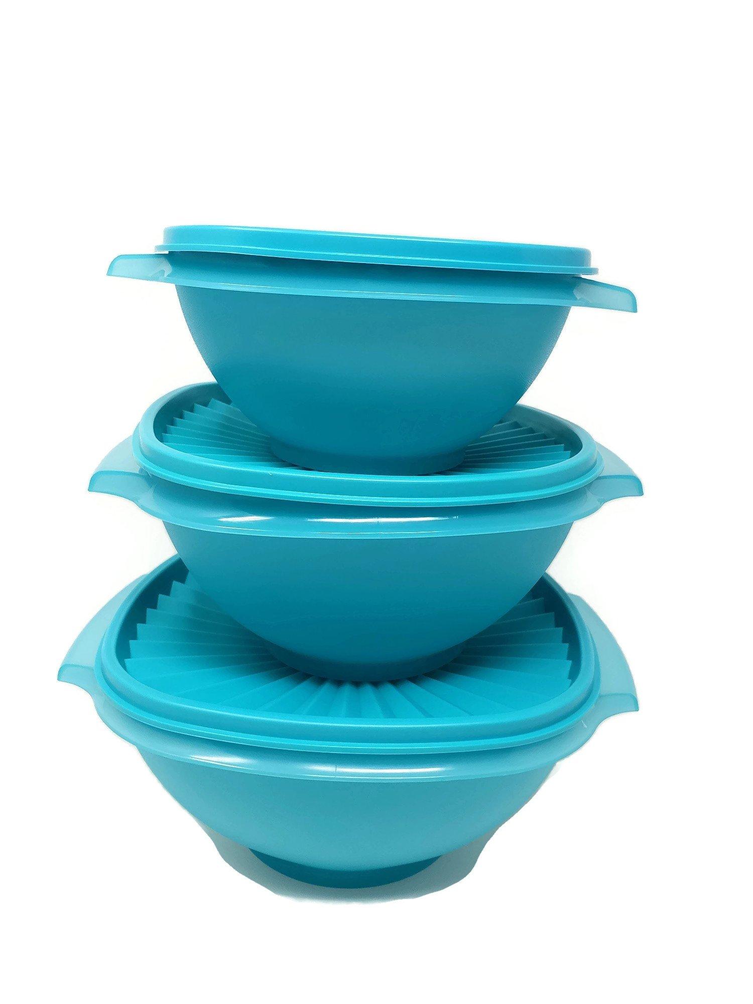 Tupperware Servalier 3 pc. bowl set