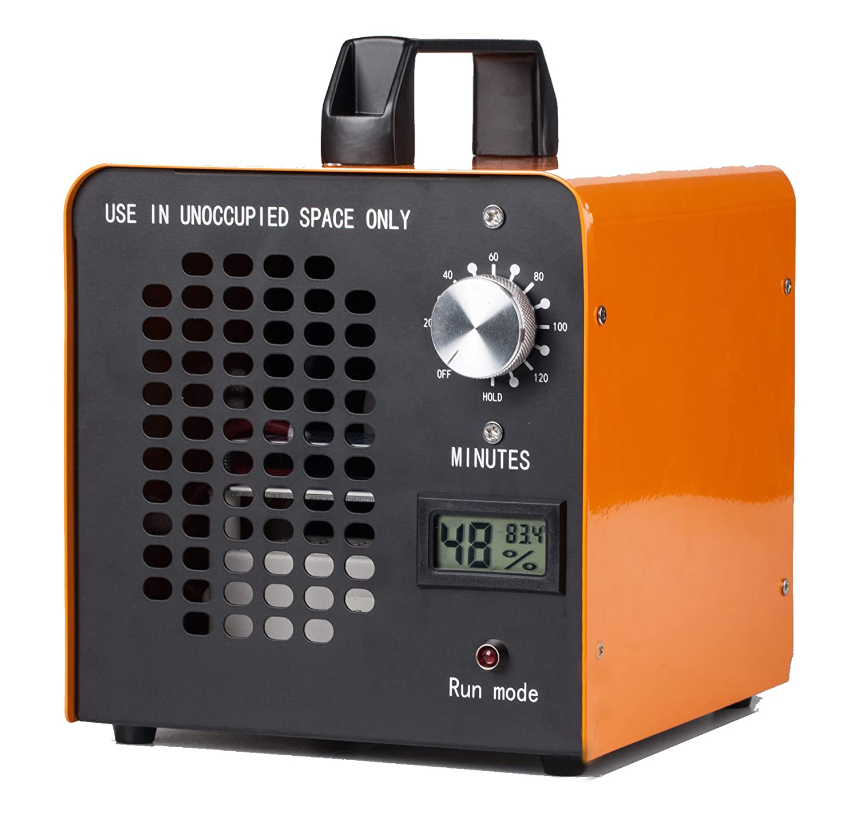 Fumo E-LINP Generatore di ozono Commerciale 10.000 MG//Ora Auto e Animali Domestici purificatore dAria ionizzatore Home per Stanza