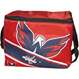 Washington Capitals Big Logo Stripe 6 Pack Cooler