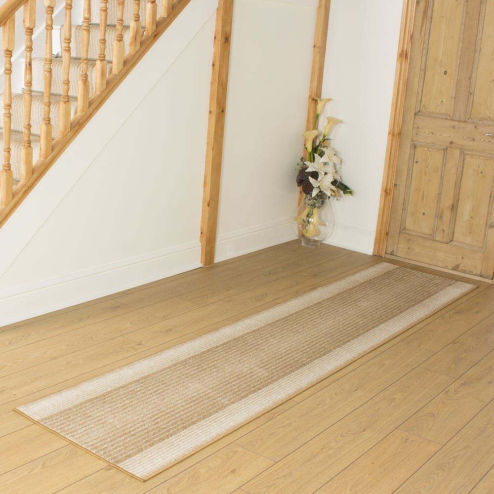 Capitol Beige - Hall & Stair Carpet Runner (Available in any length up to 30m) Carpet Runners UK