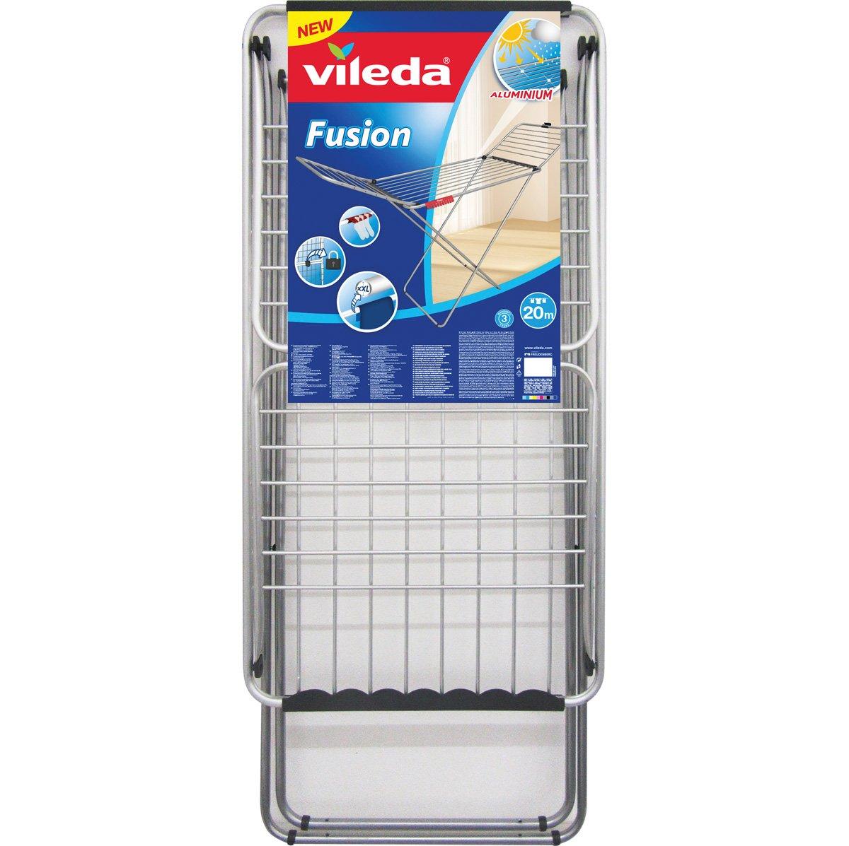 Vileda Fusion - Tendedero X-Legs de Aluminio y Acero, Plateado ...