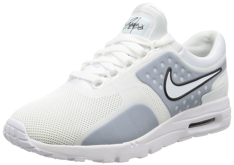 NIKE Women's Air Max Zero Running Shoe B01JJD2M9U 8.5 B(M) US|White / White-black