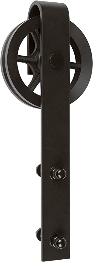 Delaney Hardware BD 5000 6FT BL  5000 Series Barn Door Hardware 6