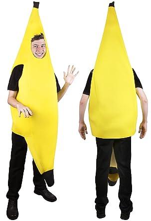 Amazon.com: Kangaroo's Halloween Costumes - Deluxe Banana Costume ...