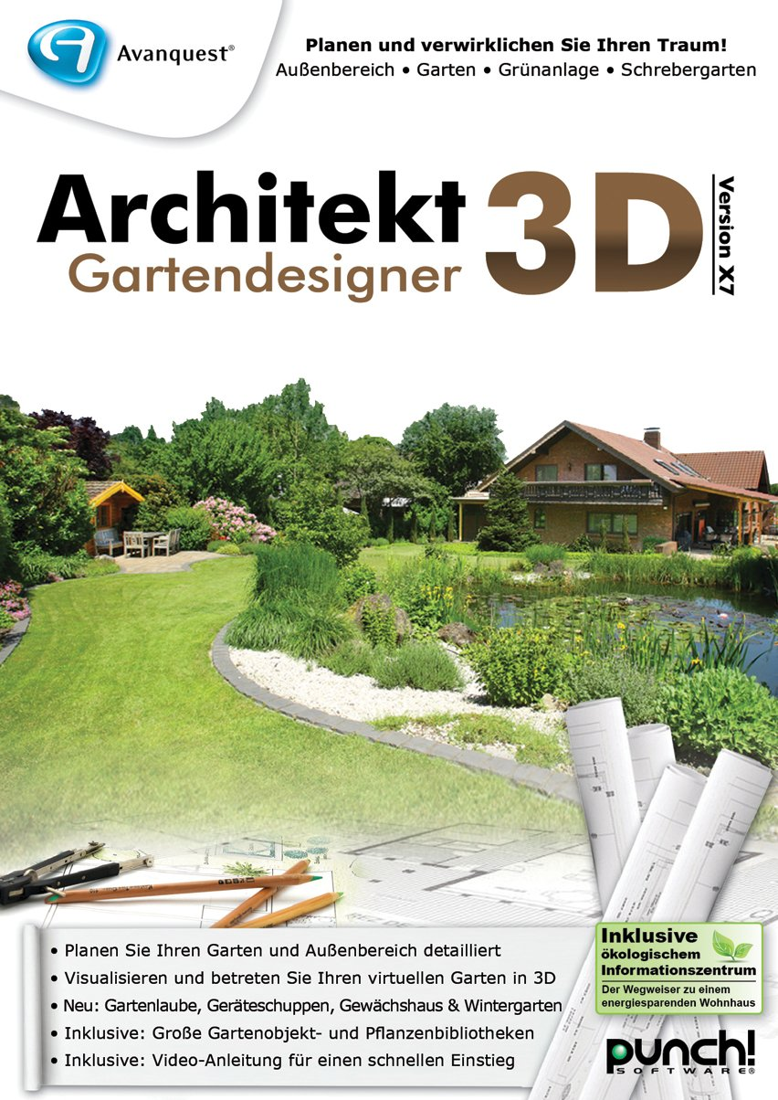 Architekt 3d X7 Gartendesigner Download Amazonde Software
