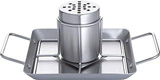 Allgrill Support pour Cuisson de BBQ en Acier Inoxydable avec Plaque, Dimensions env. 28x 19x 12cm (Poulet de/Beer Can Chicken Roaster/volaille Support de/Poulet Support/Poulet Griller) Barbecue