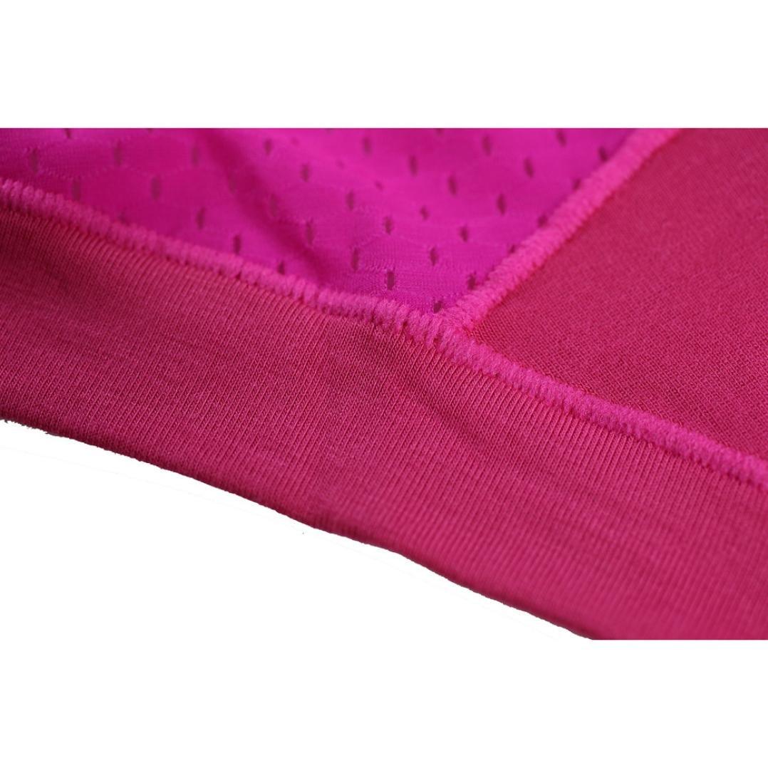 NEARTIME Men's Underwear, Mens Low Waist Boxers Briefs Men Underpants Soft Shorts (M, Hot Pink) … by NEARTIME (Image #7)