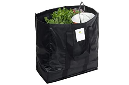 f923d6dcd9 Homestrap Reusable Polyester Grocery Shopping Bag with Reinforced ...