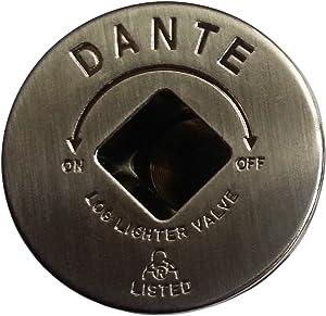 Dante Products FP.GV.PTR Pewter Floor Plate for Dante Globe Valve