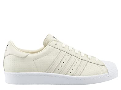Adidas Baskets Blanc Homme Mode Superstar 80's Woven WED29eIYH