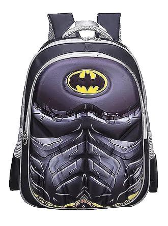 64deb97842af Superhero Spider Man Superman Backpack for Kids School Travel Batman Age5