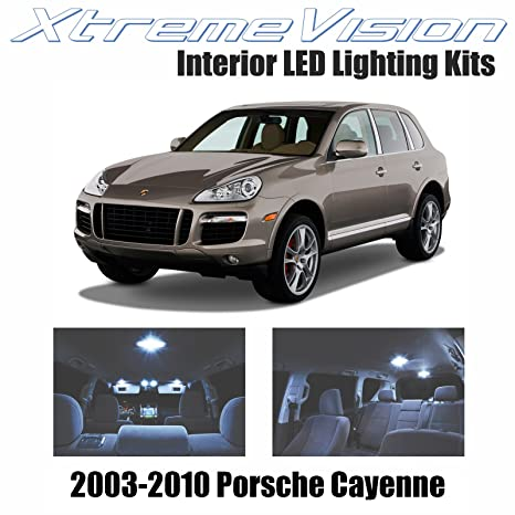 XtremeVision Porsche Cayenne 2003-2010 (21 Pieces) Cool White Premium Interior LED Kit