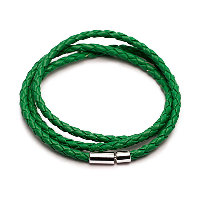 COOCOl New PU Braided Bracelet Men Bracelet Women Jewelry Clasps Bracelet