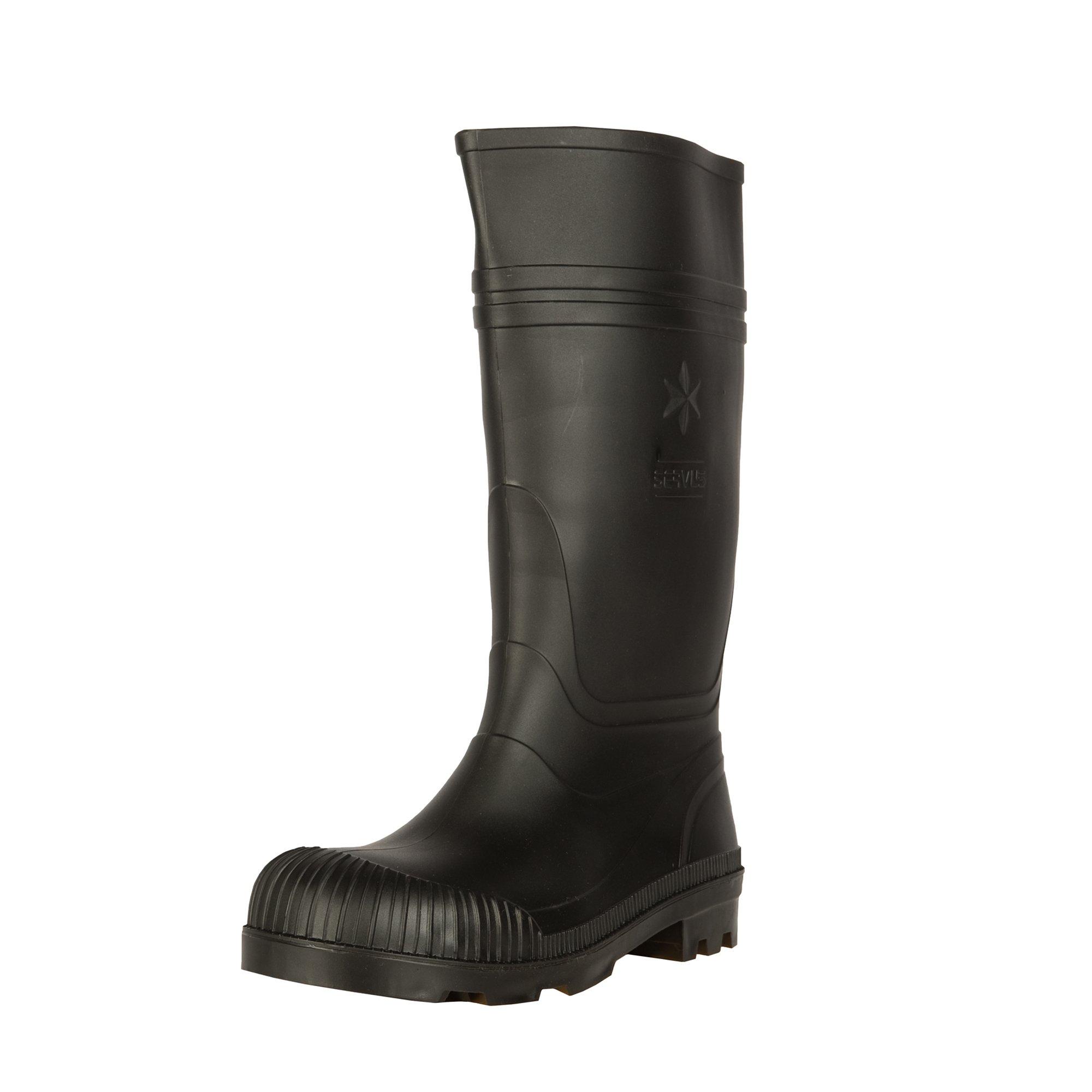 Servus 14'' Waterproof Men's Work Boots, Black (37872)