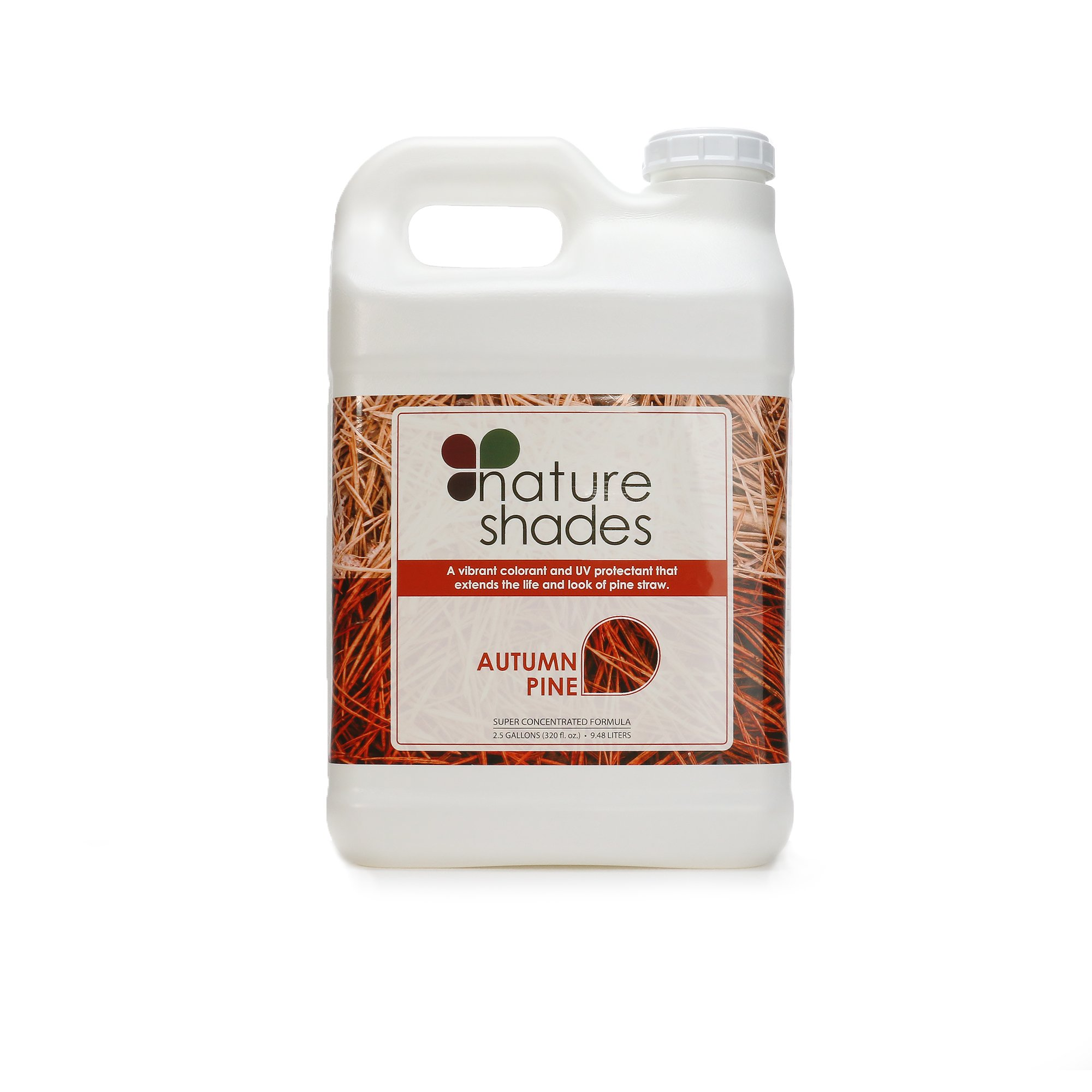 Nature Shades 2.5 Gallon Pine Straw Colorant Southern Pine Autumn Pine Pigment Dye (Autumn Pine)