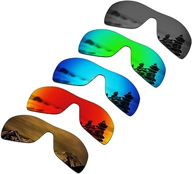 Amazon.com: SmartVLT Set of 5 Men's Replacement Lenses for Oakley Antix  Sunglass Combo Pack S02: Clothing