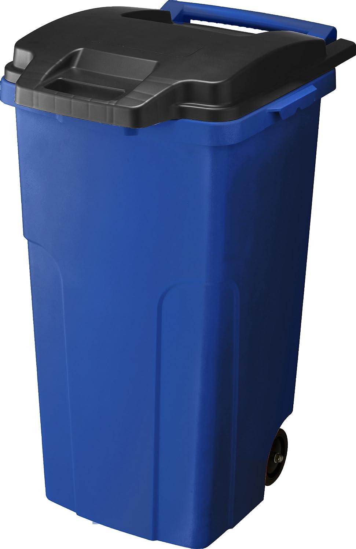リス キャスター付ゴミ箱 キャスターペール 90C2 90L 2輪 ブルー B005J0WRL6ブルー 90L