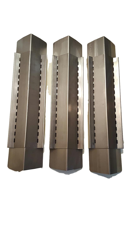 comash international Universal Stainless Steel Heat Shield Burner Cover Vaporizor Bar//Flavorizer Bar