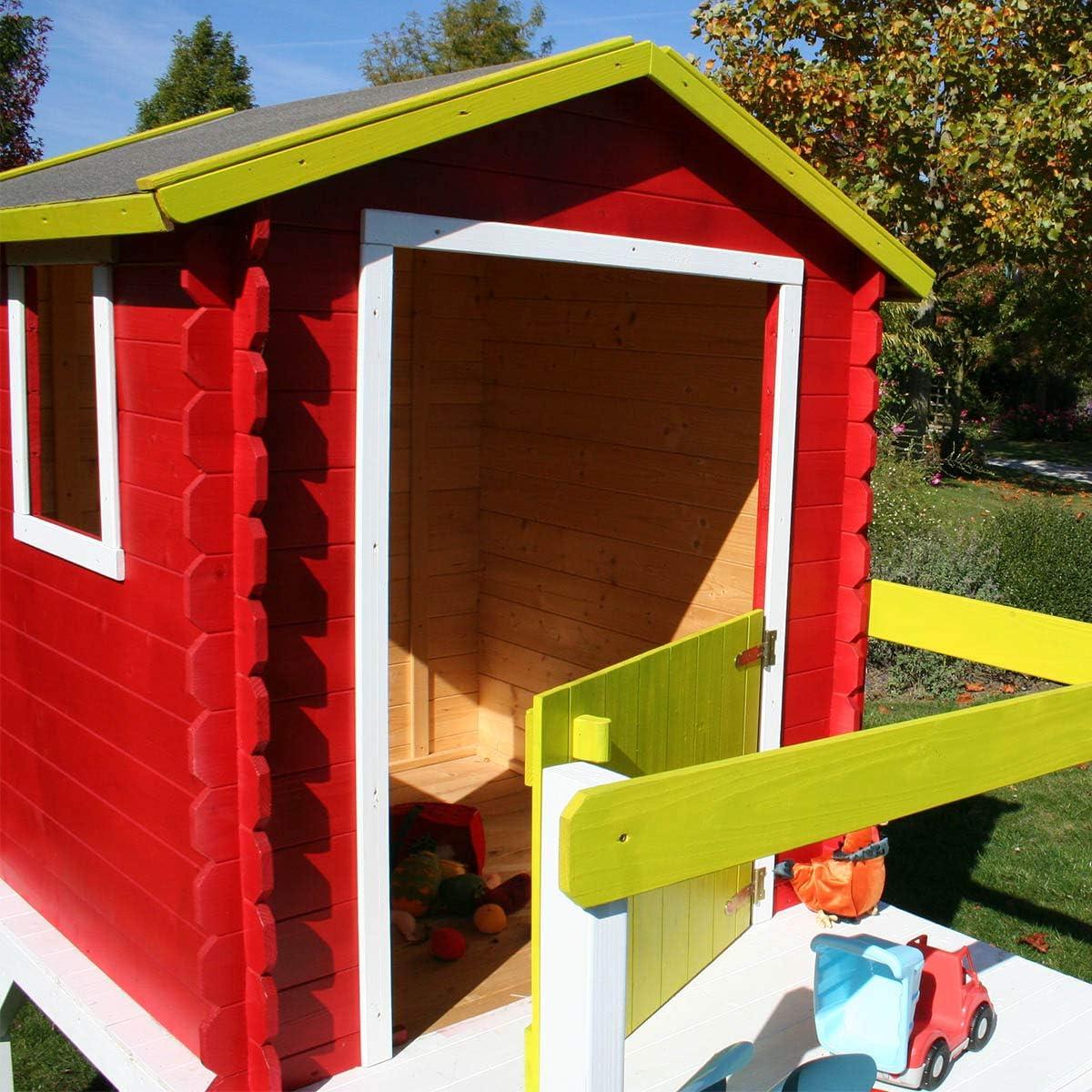 Zoe Soulet Petite cabane en Bois pour Enfant sur pilotis